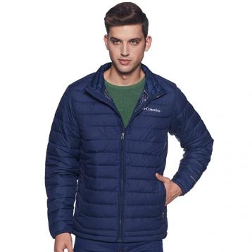 新低好价!¥382.09,Columbia 哥伦比亚 Powder Lite® 男士热反射防水保暖夹克