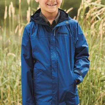 历史最低!Columbia 哥伦比亚 Watertight™ 男童中大童Omni-Tech防水冲锋衣1580641
