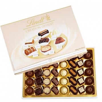 黑五好价!¥139.5直邮,Lindt 瑞士莲 创意甜点巧克力礼盒 400g