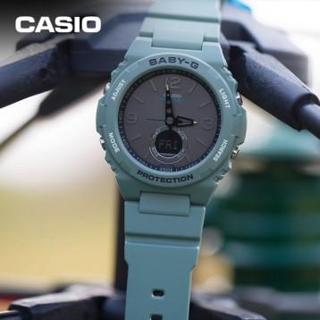 黑五史低!Casio 卡西欧 Baby-G BGA-260-3AER 女士双显石英手表