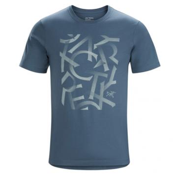 反季新低,Arc'teryx 始祖鳥 Scramble 男士印花短袖T恤