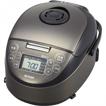 898.92元日本直邮【黑五】TIGER 虎牌 IH电饭煲JPF-N550-K 3合(3口之家)须配变压器