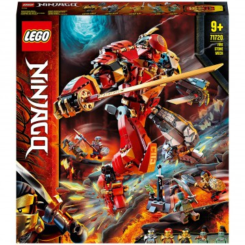 438.51元英国直邮!LEGO Ninjago 乐高幻影忍者 Fire Stone Mech 火石机甲巨人 (71720)
