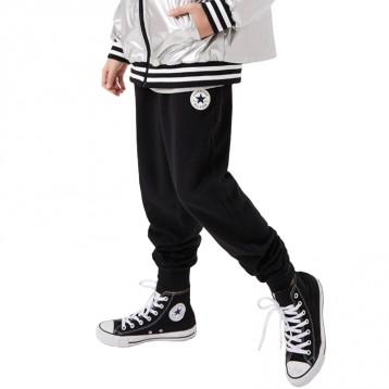 109元包邮【加绒】Converse匡威童装 男童加绒加厚运动裤(110-160cm)