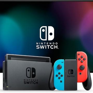 2263.93元德國直郵!Nintendo 任天堂 Switch 霓虹-紅/霓虹-藍(新版)