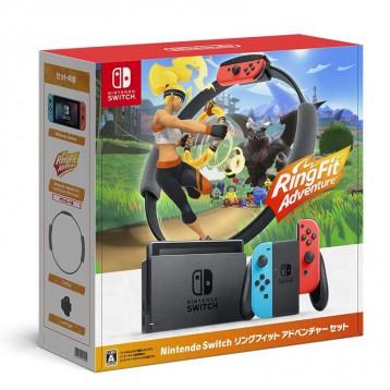 小降2420.87元日本直郵!Nintendo 任天堂 Switch 健身環套裝