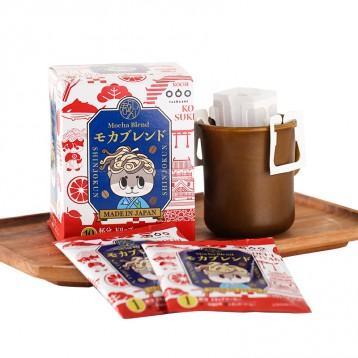 19.80元包邮【临期】隅田川✖️心巧君系列 日本进口挂耳咖啡纯黑咖啡粉10袋盒装
