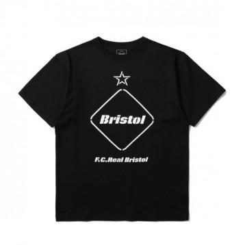 559元包邮【街头潮牌】F.C.REAL BRISTOL Logo 印花 T 恤(4色)