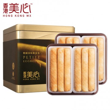 69元包郵!中國香港美心 精致原味雞蛋卷禮盒208g