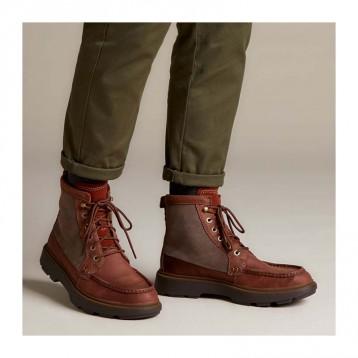 多码,Clarks 其乐 Dempsey Peak 男士英伦风真皮短靴