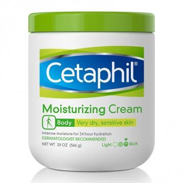 Cetaphil 丝塔芙大白罐【限时¥94.54】Moisturizing Cream 无香保湿润肤霜556g