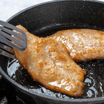 5分钟快手料理:绝世 香煎鸡排鸡胸肉半成品130g*10片