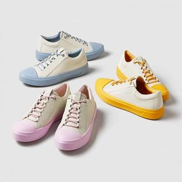 ECCO 爱步 Flexure 随溢系列 女式真皮平底休闲鞋 亚马逊海外购
