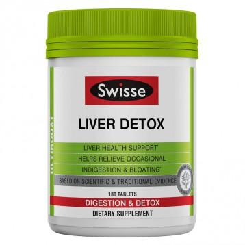 乳蓟草姜黄护肝:SWISSE Ultiboost 肝脏补充剂片180粒
