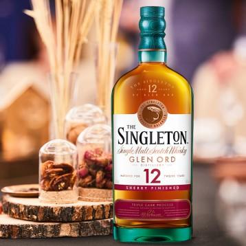 年度限量生產:帝亞吉歐 雪莉版 蘇格登12年單一麥芽威士忌 700ml