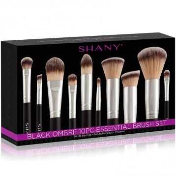 帶化妝刷旅行包:SHANY Ombre Pro 10件基礎化妝刷套裝