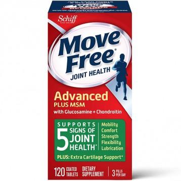 限时3件8折:Schiff Move Free 维骨力 绿盒维骨力关节炎止痛配方120粒