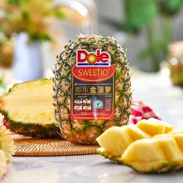 Dole都乐:菲律宾进口大菠萝1只 单果1500-2000g