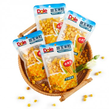 Dole都乐:甜玉米粒水果玉米粒60g*10袋装