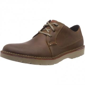 世界四大休闲鞋类品牌之一:Clarks 男士Vargo Plain德比鞋