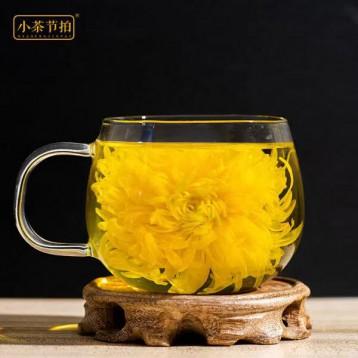 一朵一杯黄山大黄菊:小茶节拍 金丝皇菊20朵