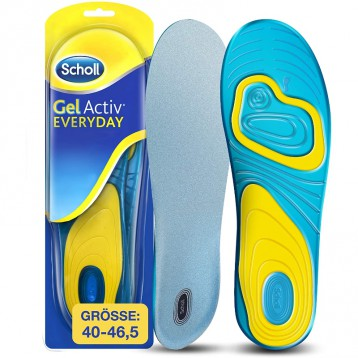 自粘凝胶鞋底:Scholl GelActiv 每日鞋垫(40-46.5码)