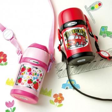【Prime专享¥140.99】吸管杯盖两用式:ZOJIRUSHI 象印 儿童不锈钢保温保冷杯450ml(四色好价)