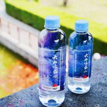 能排酸的天然矿泉水:火山鸣泉 天然弱碱性矿泉水460mlx15瓶x2箱