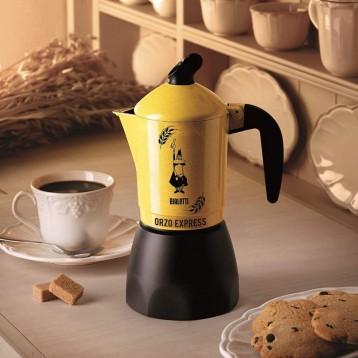 可以煮大麦茶的咖啡壶:Bialetti 比乐蒂 Orzo大麦摩卡咖啡壶 法压壶(2杯)
