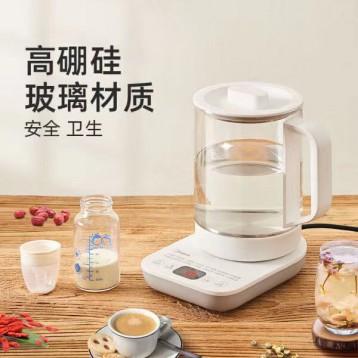 美的(Midea)养生壶 煮茶器煮茶壶 电水壶烧水MK-YS15E107