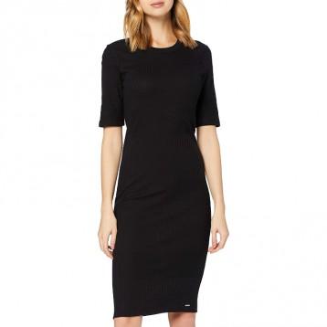 什么场合都能hold住:Superdry 极度干燥 女式 NYC 多罗纹 T恤休闲连衣裙