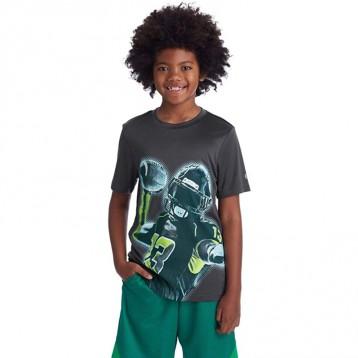 冠军旗下运动品牌:C9 Champion 男孩 Tech 短袖速干T恤(7-14岁)