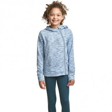 冠軍旗下運動品牌:C9 Champion 女童不對稱拉鏈運動夾克(7-14歲)