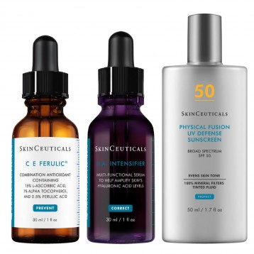 夏日抗衰专业方案【折扣难得】SkinCeuticals 修丽可 Anti-Aging Vitamin C and Mineral Sunscreen Kit