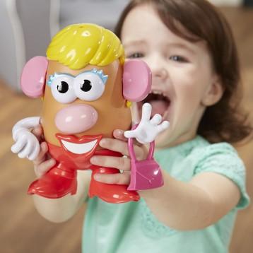 玩具总动员出镜:Playskool 新版 Mrs. Potato Head 大头土豆太太拼插玩具 20cm(2岁+)