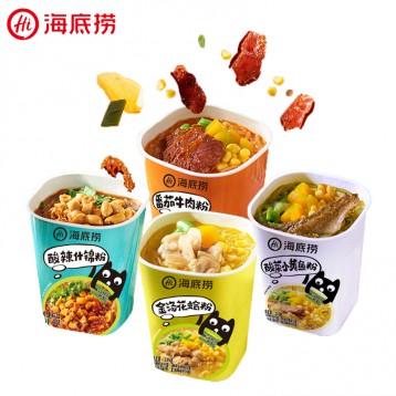 即食酸辣粉丝:海底捞 番茄牛肉粉3盒