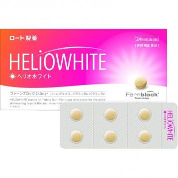 """可以吃的""""防晒霜"""":ROHTO 乐敦 HELiOWHITE UV 防晒丸美白丸 24粒"""