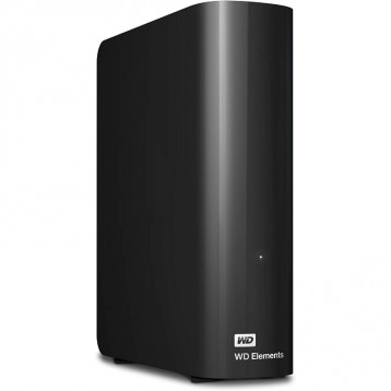 【12TB 】Western Digital 西部数据 Elements Desktop 外接硬盘