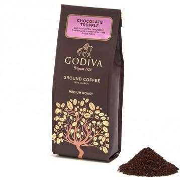 100%阿拉比卡咖啡豆:GODIVA 歌帝梵 巧克力松露咖啡粉(中度)