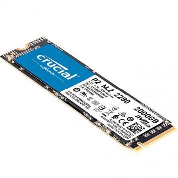 挖矿首选!英睿达原厂(Crucial)2TB SSD固态硬盘 M.2接口(NVMe协议)