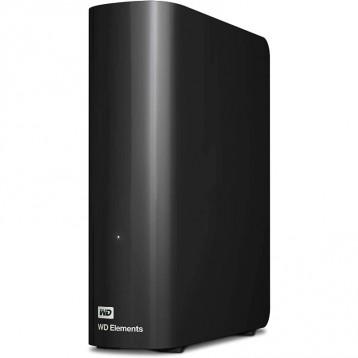【10TB 】Western Digital 西部数据 Elements Desktop 外接硬盘