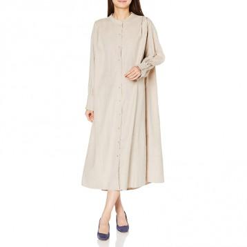 日式衬衫连衣裙:Ray Cassin(レイカズン)休闲衣裙 107612580 均码
