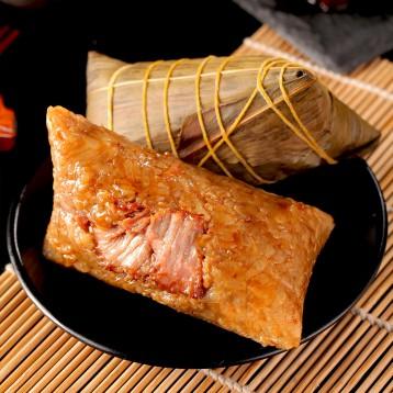 杭帮粽【杭州特产】知味观 端午节粽子鲜肉粽100g*4只