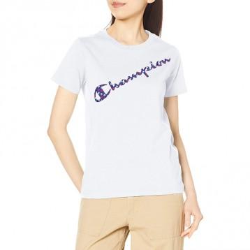 日线冠军:Champion 印花T恤 基本款 CW-S305 女士