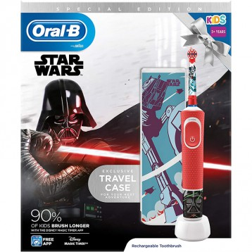 儿童电动牙刷【3岁+】Oral-B 欧乐B 星球大战主题 博朗动力电动牙刷