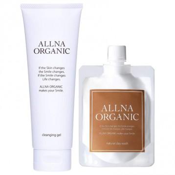 日本亞馬遜男士卸妝TOP1【有機-無添加】ALLNA ORGANIC (オルナオーガニック) 卸妝啫喱+潔面泡沫套裝