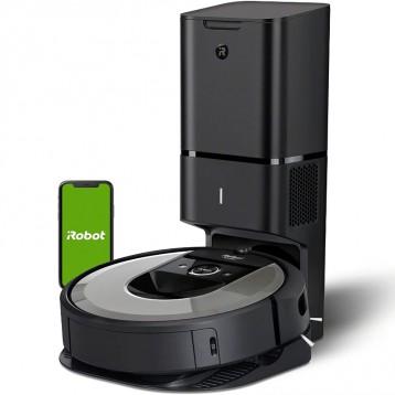 会自动倒垃圾【秒杀】iRobot Roomba i7+ (i7556) 扫地机器人