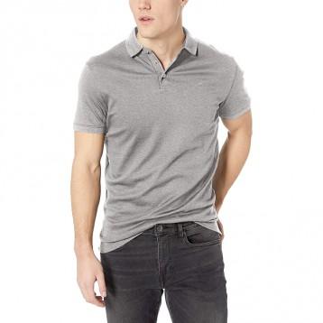 防晒 轻量级【CK独特面料】Calvin Klein Liquid Touch 男士全棉短袖Polo衫