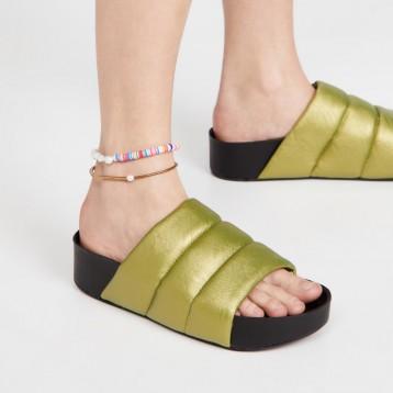 設計師品牌:Simon Miller Vegan Dip 涼拖鞋