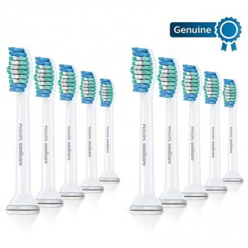【Prime专享¥104.19】PHILIPS飞利浦 HX6010/30 基础清洁 电动牙刷头10支